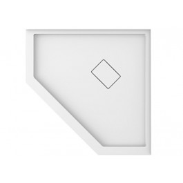 Neptune A21.16138.0030 White Acrylic Base Neo-Angle With Leak-Barrier (38x38)