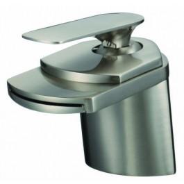 Ceramic Cartridge Vanity Faucet Brushed Nickel  81H19-BN