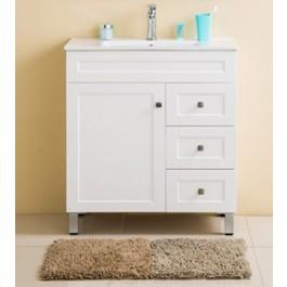"Bathroom Vanity & Sink Matt Alba 30, White 30"""
