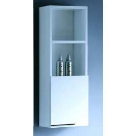 "Bathroom Vanity Cabinet,  Glossy White  11-3/4"""