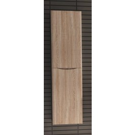 Bathroom Vanity Cabinet,  White Oak, Left  15-3/4""