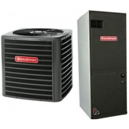 Goodman Central Heat Pump 3.5 Ton Seer 16 with Air Handler Included (GSZ160421-AVPTC49D14)