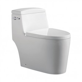 Jade TS-118 Joelle Collection 1-Piece 0.88/1.2 GPF Dual Side-Flush Elongated Toilet