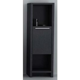 "Bathroom Vanity Cabinet,  Maple Grey  15-3/4"""