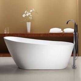 "Neptune Freestanding Acrylic Bathtub Malaga Collection 66"""