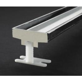 "ACO 93861 Linear Floor Plain Edge Shower Drain  27.56"" (27-9/16"")"