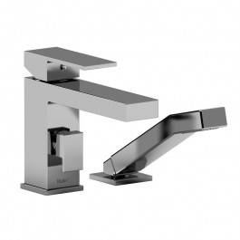 Riobel Pro US02C 2-Piece Deck-Mount Tub Filler With Hand Shower