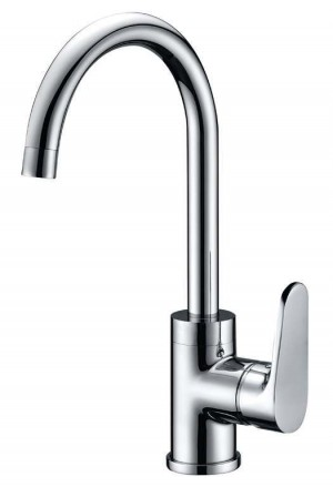 Single Lever Kitchen Sink Faucet Chrome Finish  1807300S34-CHR