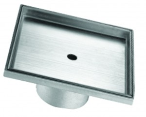"Toolway 188055 Square Shower Drain Tile-In Series (5-3/32"")"