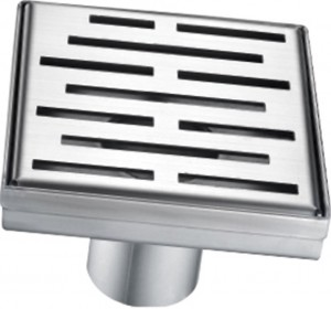 "Toolway 188058 Square Shower Drain Grill Grid Series (5-3/32"")"