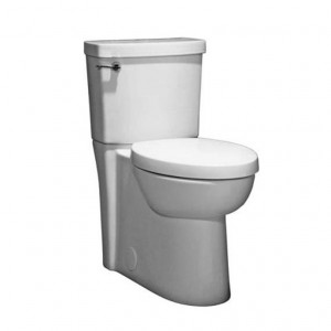 American Standard 2794004 Studio Concealed Trapway Right Height Elongated toilet with Seat