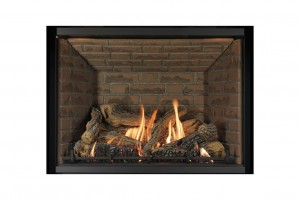"Archgard 41-DVTE36LN Gas Fireplace (33-5/16"" H x 24"" W)"