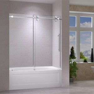 "Jade 6492-60-10 Bathtub Door Chrome (60""x66"")"