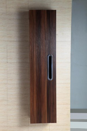 Bathroom Vanity Cabinet,  Black Walnut  13-3/4""