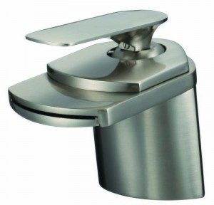 Ceramic Cartridge Vanity Faucet Brushed Nickel  81H19-BN