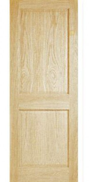 "Interior Solid Panel Door In Embossed Oak (30""x80"")"