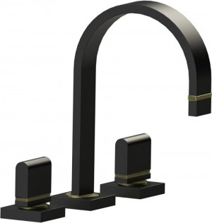 Rubinet Vanity Faucet R10 Collection Black Matte (1ARTQMB)