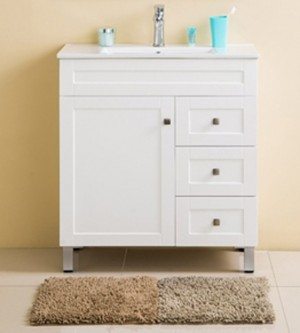 Bathroom Vanity & Sink Matt Alba 30, White 30""