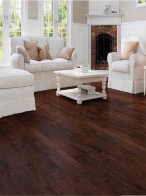 "Appalache Hard Maple Hardwood Advantage Grade Signature Collection Earth Color (3-1/4""x3/4"")"
