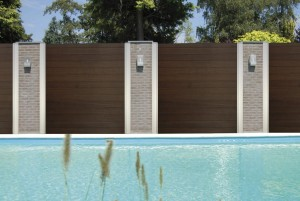 Thermalwood Decking Roasted Wood Dark Brown (SNAP-TO-IT)