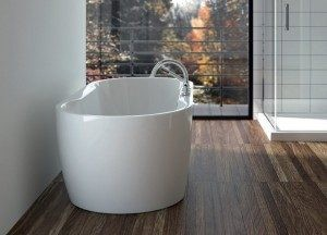 Neptune Freestanding Acrylic Bathtub Berlin Collection 60""