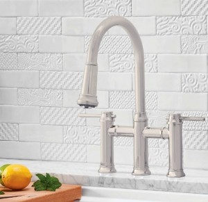 Blanco Kitchen Faucet Empressa Bridge Collection Stainless (BL442505)