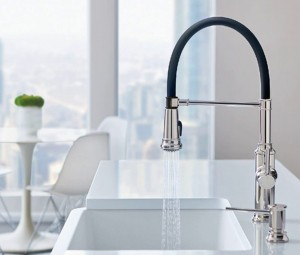 Blanco Kitchen Faucet Empressa Semi-Pro Collection Stainless (BL442509)