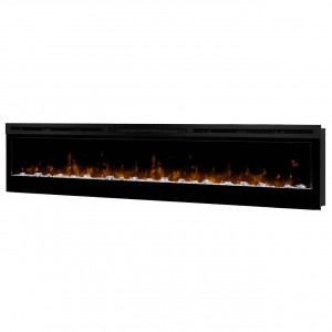 "Dimplex BLF7451Prism Series 74"" Wall Mount Electric Fireplace120-240 V / 1230-2430 Watt"