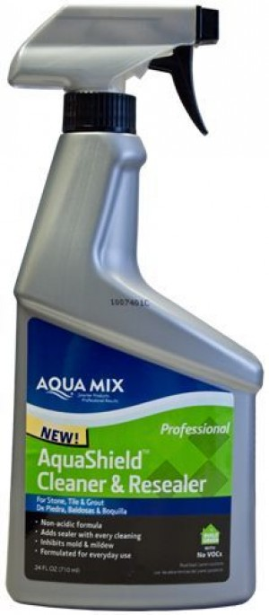AQUAMIX-C010507-4 AQUASHIELD CLEANER & RESEALER Spray of 24 OZ