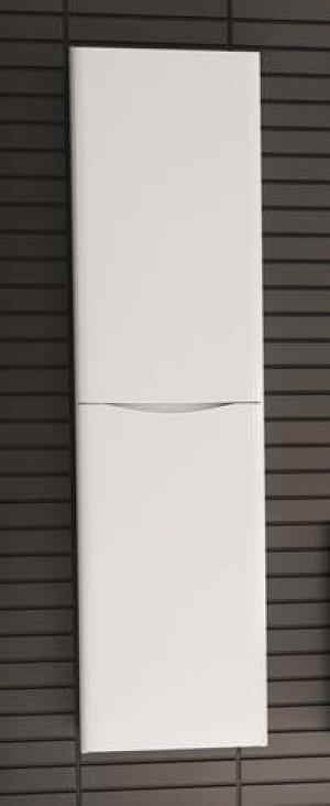 """Bathroom Vanity Cabinet,  Hi Gloss White, Left  15-3/4"""""""