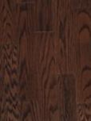 BSL Nanoshell Red Oak Hardwood Flooring, Natural Grade, Cappuccino (3-1/4x3/4)