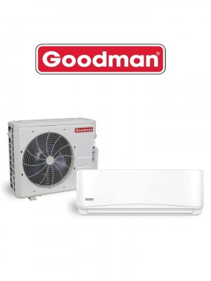 Goodman Ductless Mini Split Heat Pump 12 000 Btu Seer 17 (MSH123E17)