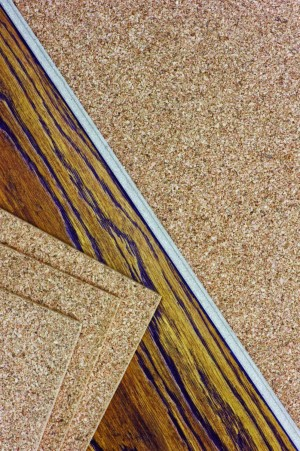 Cork Sheet Underlayment,  2' x 3' (4mm)