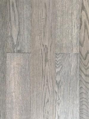 "GreenTouch Engineered Wood Red Oak Dark Grey (4.7""x3/8"")"