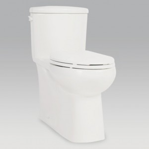 "Contrac 4710BOVUB Toilet Cali 4.8Lpf / 1.28Gpf 1PC 167 /8 "" High Elongated"