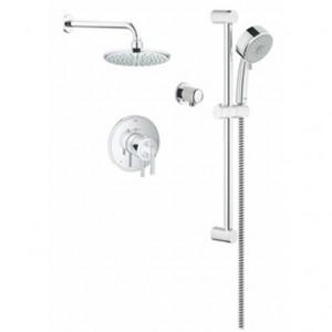 Grohe Timeless THM 117161 Shower Faucet Kit Chrome