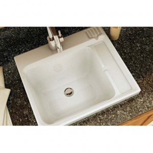 Maax Evia 100898 Acrylic Sink White