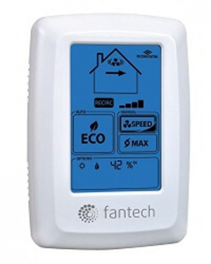 Fantech ECOTOUCH Programmable Touche Screen Wall Control