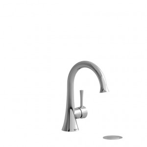Riobel ED01 Edge Collection Single Hole Lavatory Faucet Chrome