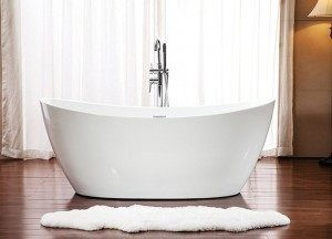 Neptune Freestanding Acrylic Bathtub Florence Collection 60""