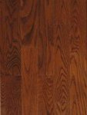 BSL Signature Red Oak Hardwood Flooring, Natural Grade, Gunstock (3-1/4x3/4)