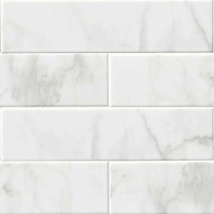 Ceramic Tiles,Glossy White Carrara (NWHICARGLO4X16)