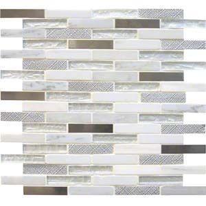 Interlocking Ceramic,Ocean Crest Brick 5/8 x 3 8 MM(SMOT-SGLSMT-OC8MM)