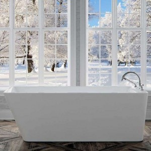 Neptune Freestanding Acrylic Bathtub Lauzanne Collection 66""