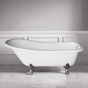 Jade Freestanding Acrylic Bathtub London Collection 59""