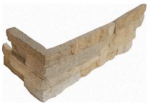 "Ledger Corner Panel Fossil Rustic 6""x18"" x 6"" (LPNLDFOSRUS624COR)"
