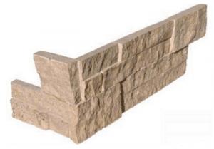 "Ledger Panel  - Corner, Roman Beige6"" x 18"" x 6"" (LPNLTROMBEI624COR)"