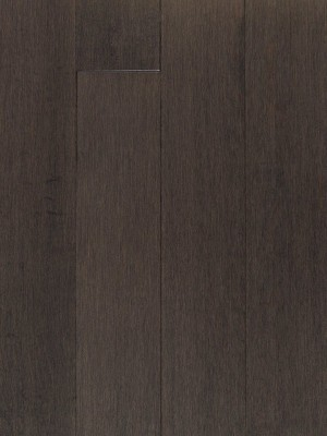 "Hard Maple Hardwood Flooring,Pewter, Grade Rustic (2-1/4""x3/4"")"