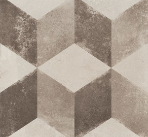 """Porcelain Tiles, Vintage Decor Cubo (8""""x8"""")"""