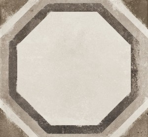 "Porcelain Tiles, Vintage Decor Ottagono (8""x8"")"